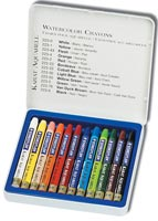 Awesome watercolor crayon set